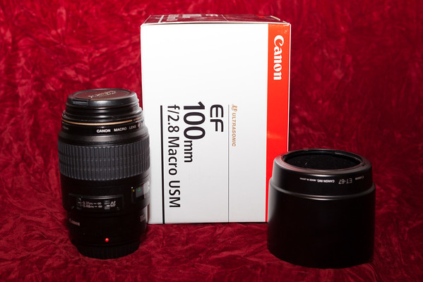 January 2, 2012 - Canon EF 100mm lens - off to eBay.