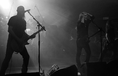 NEW MODEL ARMY, THE ENGINE SHED, 5th May 2016