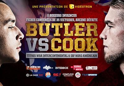 2017 - Gala de boxe BUTLER vs COOK