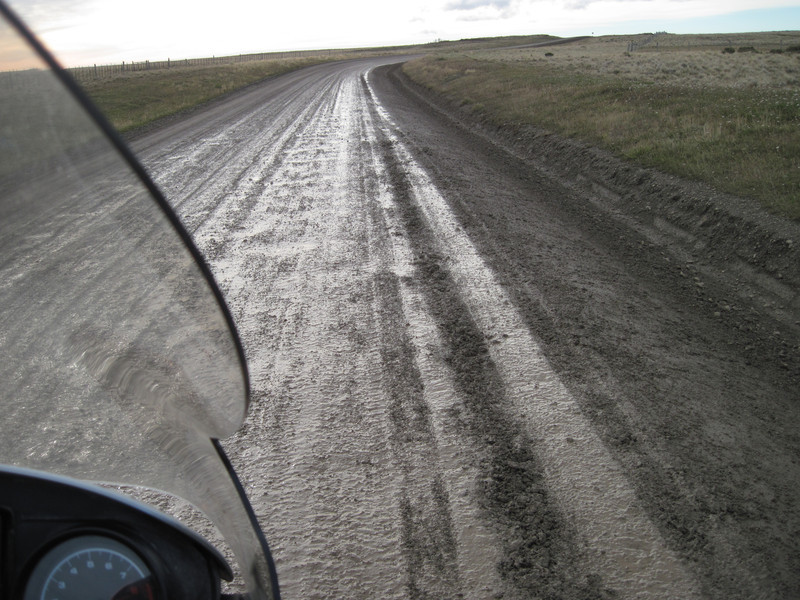 Mud on Y79, Tierra Del Fuego