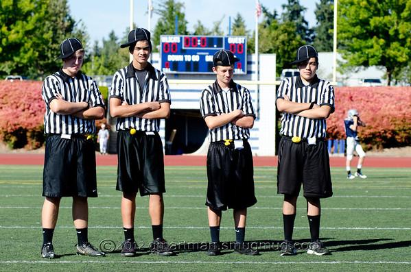 2012 8th Grade Football vs. Glencoe