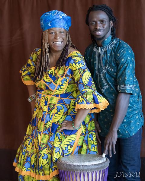 Afua & Boka Kouyate