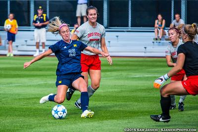 8-12-15 Michigan Women's Soccer Vs Ohio State Ex.