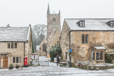 Winter in Castle Combe