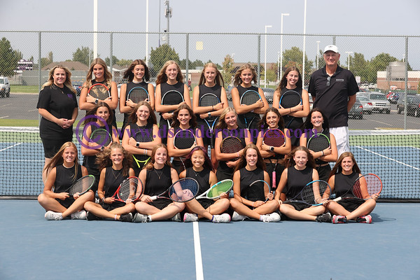 2021 RHS GIRLS TENNIS
