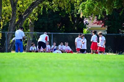 Mustang Soccer 2010 Team Revolution VS Team Wolverines Game 9