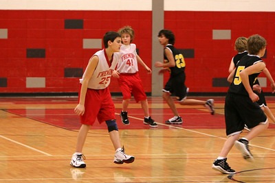 MS Boys Basketball 7A - 2009-2010 - 1/18/2010 Tri-County