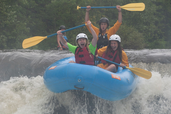 College Age Rafting Trip
