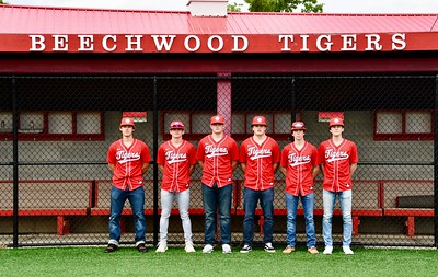 Senior Baseball Players