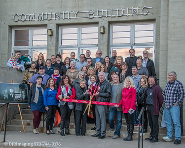 Loveland Chamber of Commerce - Pulliam Building Foundation Ribbon Cutting  - 11/06/2018