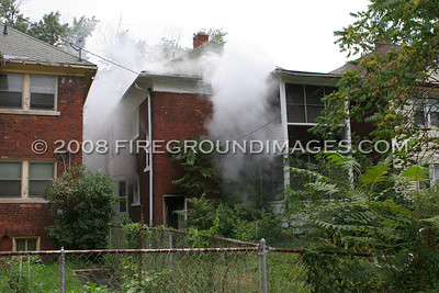 Virginia Park Fire (Detroit, MI) 7/26/07