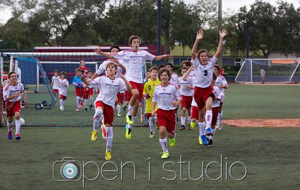 2013 Boys MS Soccer