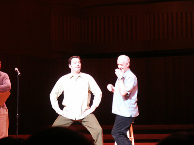 Colin Mochrie and Brad Sherwood November 2003
