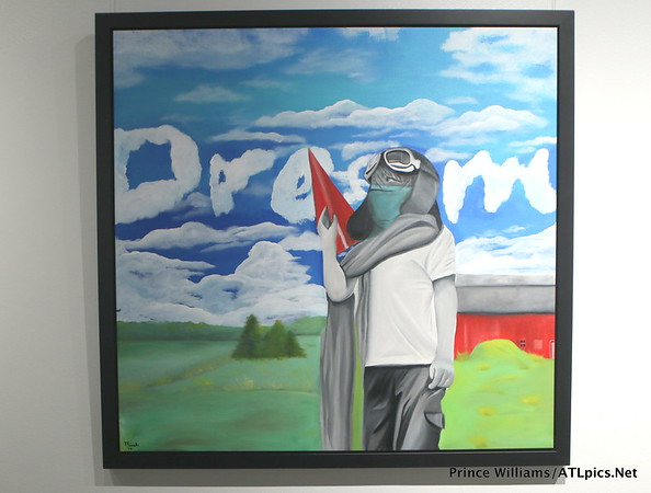 "Micah Johnson ""What Lines?"" Private Art Exhibit"