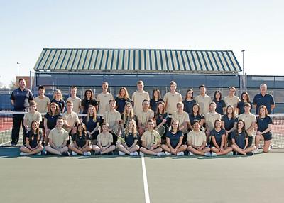 2018 Mansfield High School Tennis