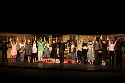 """HS Theatre - 4/17/2013 """"Done to Death"""" Dress Rehearsal"""