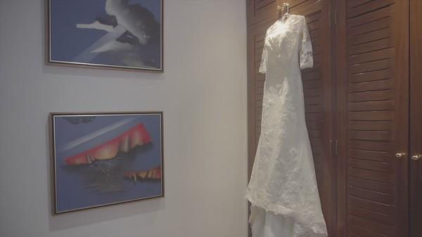 Casamento de Fabiane e Rafael no O Conde Restaurante