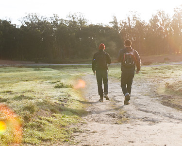 Hiking Boys