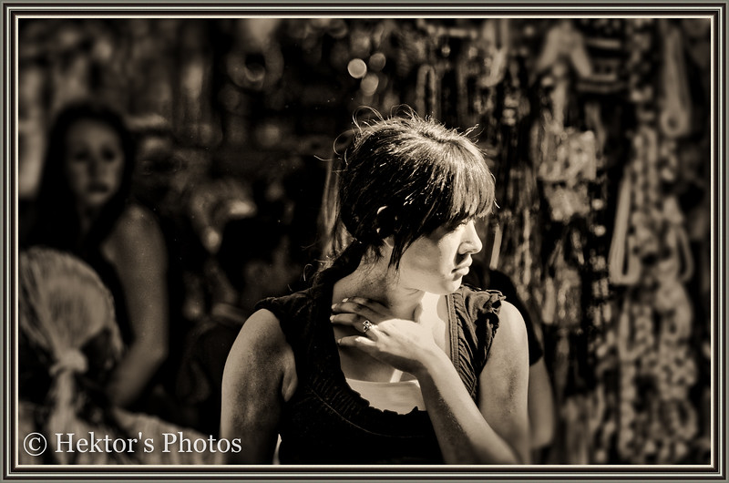 Young Girl in Olvera Street
