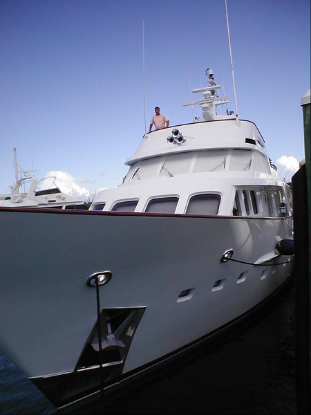 Feadship 100ft, remodeled in the Bahamas and USA.