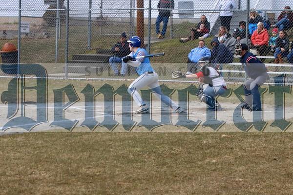 Sullivan West vs Tuxedo baseball