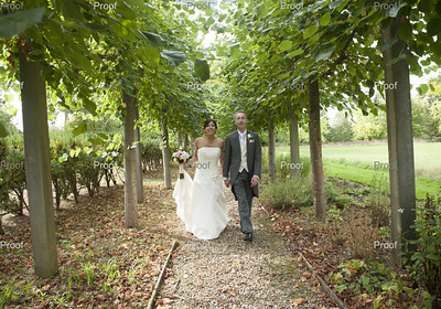 Cindy and Paul at Fanhams Hall