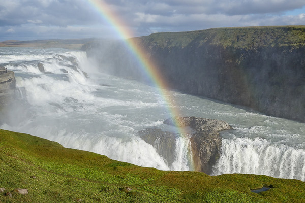 Gullfoss Waterfall--and Rainbows! | Best of Iceland Nature
