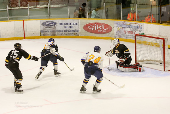 Pre-season Exhibition Vs  Iroquois Falls Eskis, August 28th 2015.