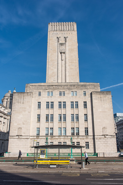 George's Dock Ventilation and Control Station, Pier Head, Liverpool