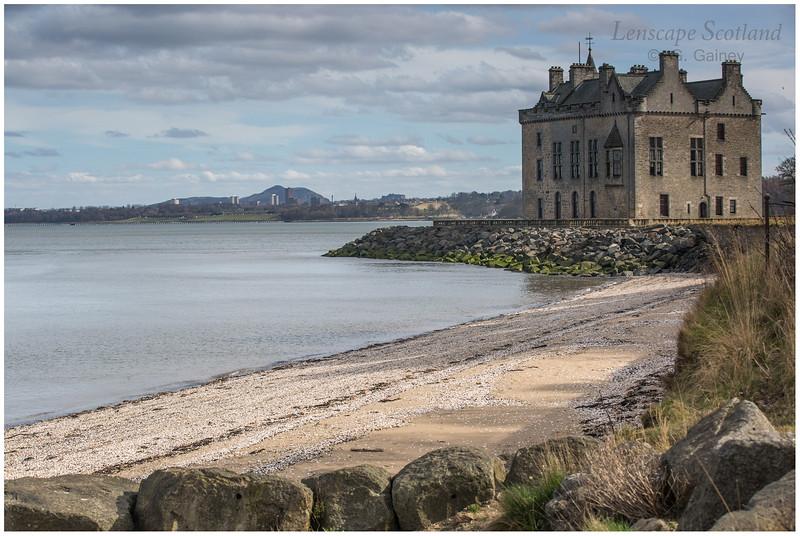 Barnbougle Castle, Dalmeny, near Edinburgh
