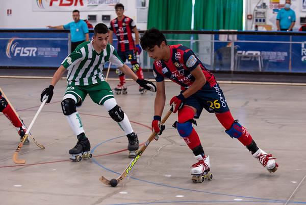 Montecchio Precalcino vs Hockey Forte