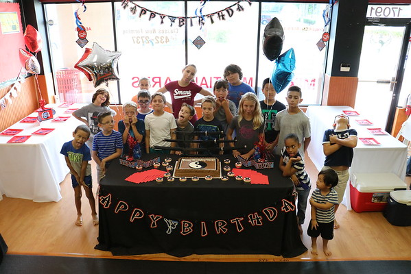 Joel Bart birthday party 082716