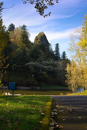 Columbia River Gorge Fall