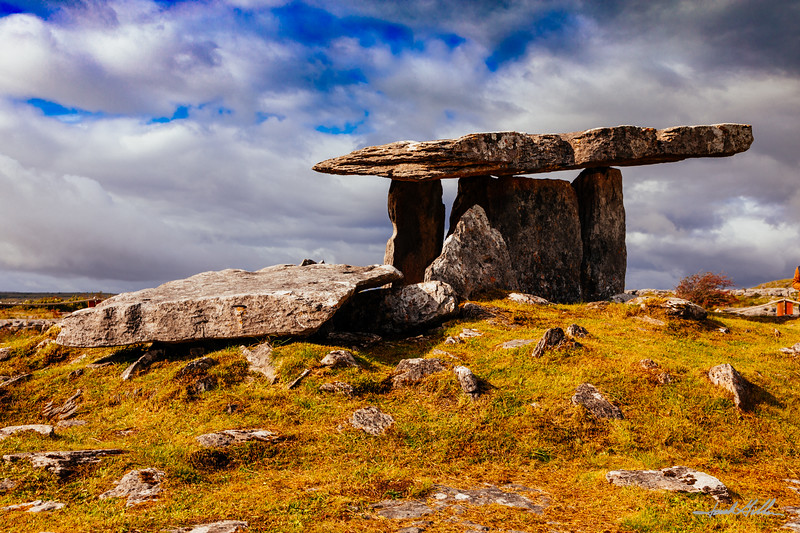 Poulnabrone Dolmen, the portal tomb