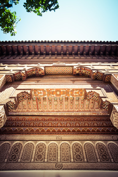 Arch Detail, Morocco