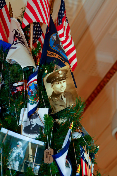 2012 Veterns Christmas Tree - WV State Capitol