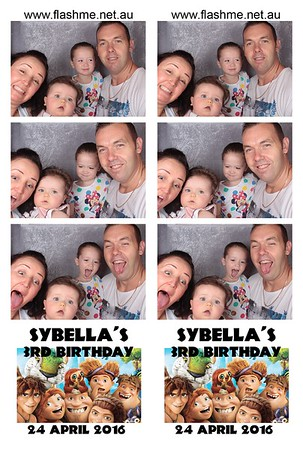 Sybella's 3rd Birthday - 24 April 2016