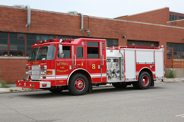 Detroit FD Apparatus August 16-22 , 2007 Part 1