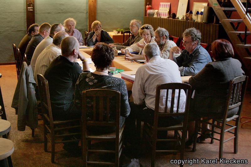 027. Stemmenrepetitie in Tal-foyer (15-06-2009).