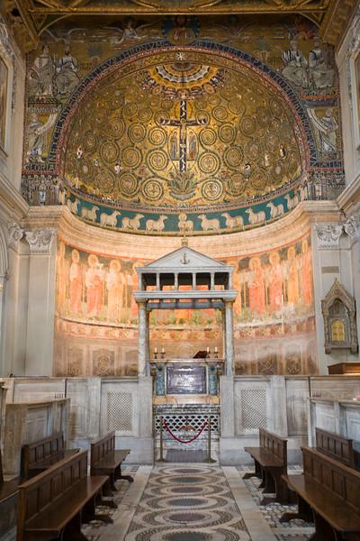 Apse of San Clemente Basilica, Rome