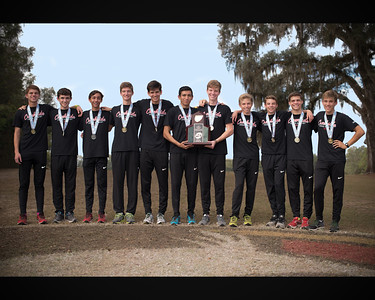 2015 Creekside Boys Cross Country Team