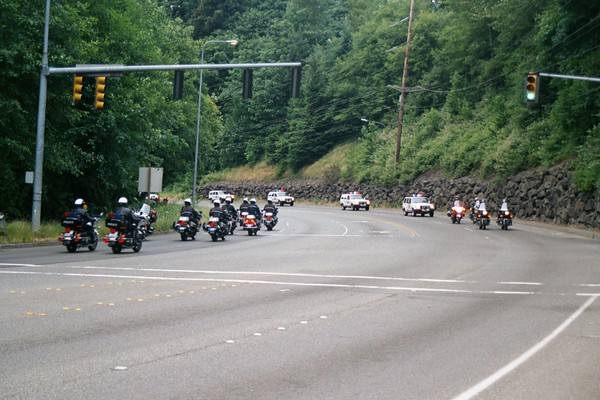 Police Motorcade 2000 KCSO