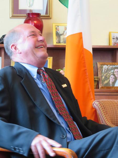 Pittsfield mayors film message for Irish Sister City 052314