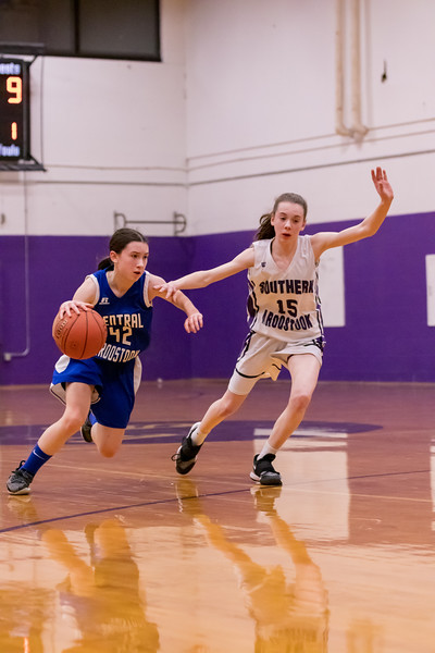 SACS Varsity Girls VS Central Aroostook 1/28/19