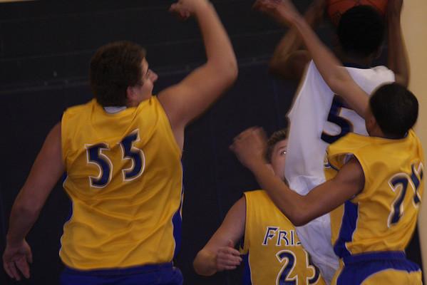 Frisco JV Boys Basketball vs. McKinney Lions 01-29-09