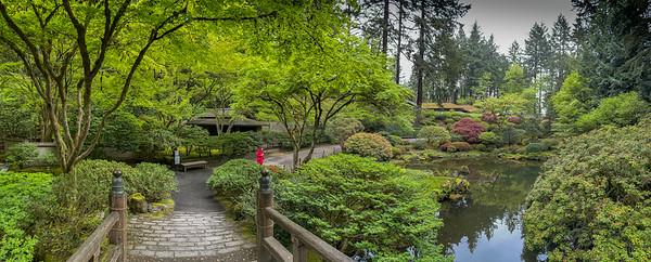 Portland Japanese Garden 4-26-21