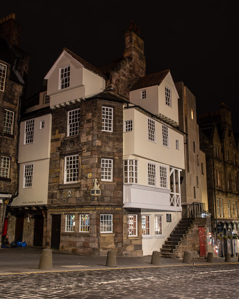 John Knox House on Edinburgh's Royal Mile