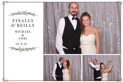 Finally O'Reilly - Michael & Cori's Wedding strips