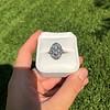 1.75ctw Edwardian Toi et Moi Old European Cut Diamond Ring  68