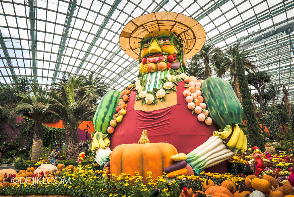 Gardens by the Bay - Autumn Harvest Floral Display - Main Floral Field Giant